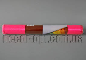 Органза ярко-розовая 35 см / 10 ярд
