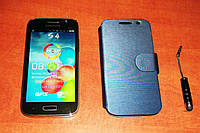 Samsung Galaxy S4 GT i9500 4,5 дюймовый смартфон (Android 4.2, Dual sim)  + чехол и стилус