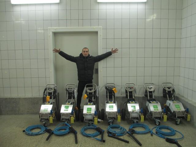 Аппараты ПРОФИ  установлены на все комплексы птицефабрик известного бренда.