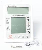 Цифровой термометр TS KT 203 (Часы / Календарь / Будильник)