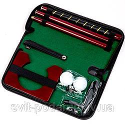Мини гольф в футляре из эко кожи