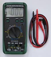 TS VC-2101 (Тестер мультиметр (сопротивления, постоянного и переменного токов, прозвонки, измерения ёмкостей и