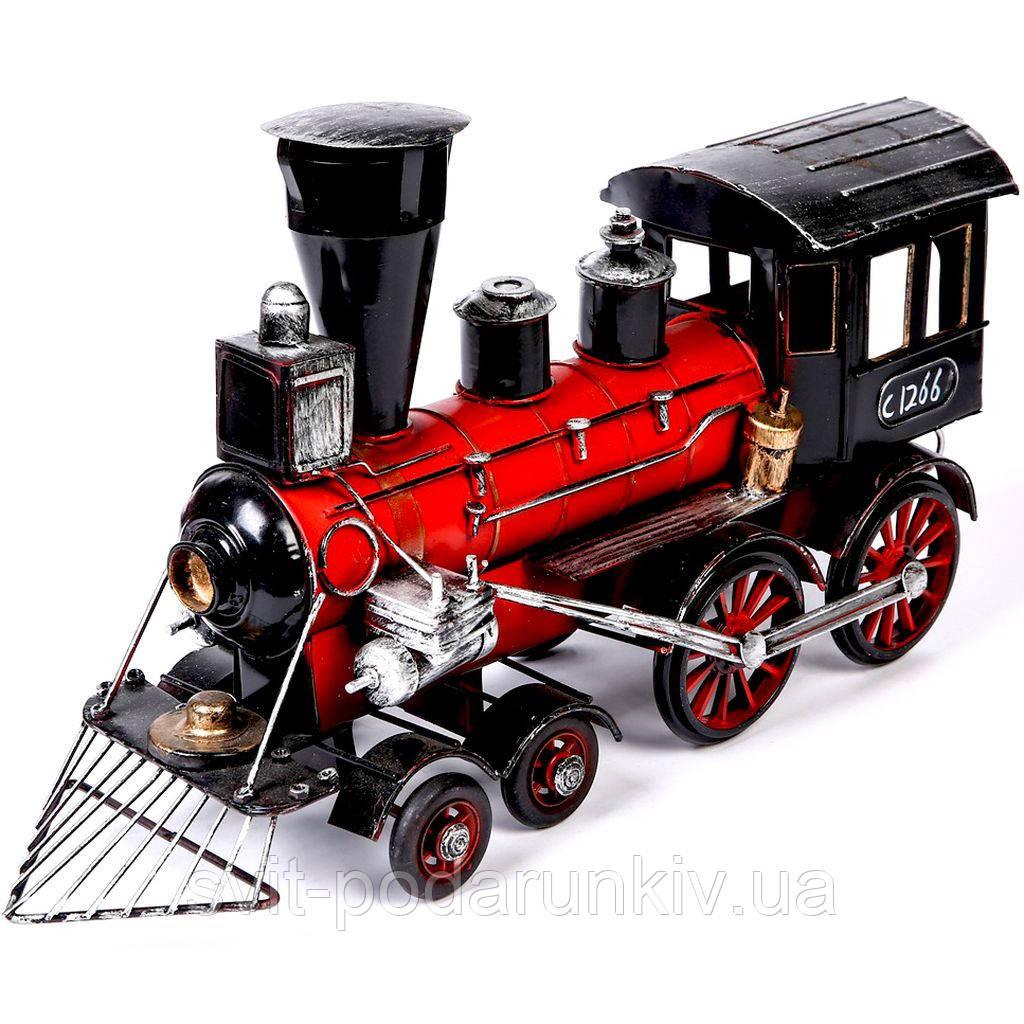 Модель паровоза 7290