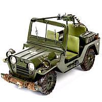 Модель автомобиля военный Jeep CJ110467