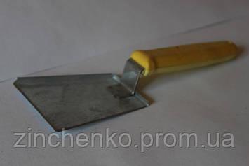 Скреб лопатка с пластиковой ручкой оцинковка