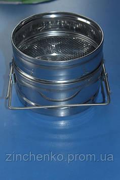 Фильтр для меда 150 мм нержавейка с плоским дном