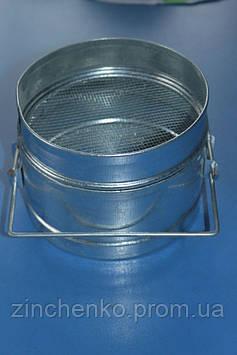 Фильтр для меда оцинкованный 150 мм с плоским дном