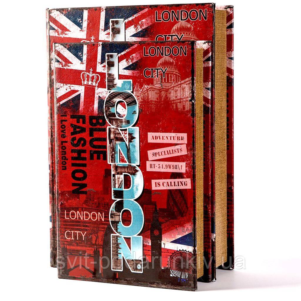 Книга шкатулка London