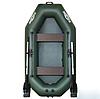Надувная гребная лодка (Стандарт) с пайолом слань-книжка KDB К-240 / 67-172