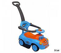 Машинка-каталка с толкателем Alexis-Babymix Q-63