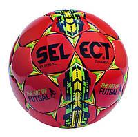 Мяч футзальный №4 SELECT FUTSAL SAMBA(R) (красный-зеленый-желтый)