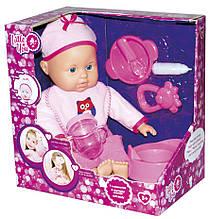 Куклы и пупсы «Little You» (F1806-1) пупс с аксессуарами, 30 см (в розовой одежде)