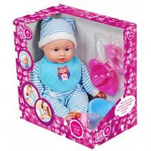 Куклы и пупсы «Little You» (F1806-2) пупс с аксессуарами, 30 см (в голубой одежде)