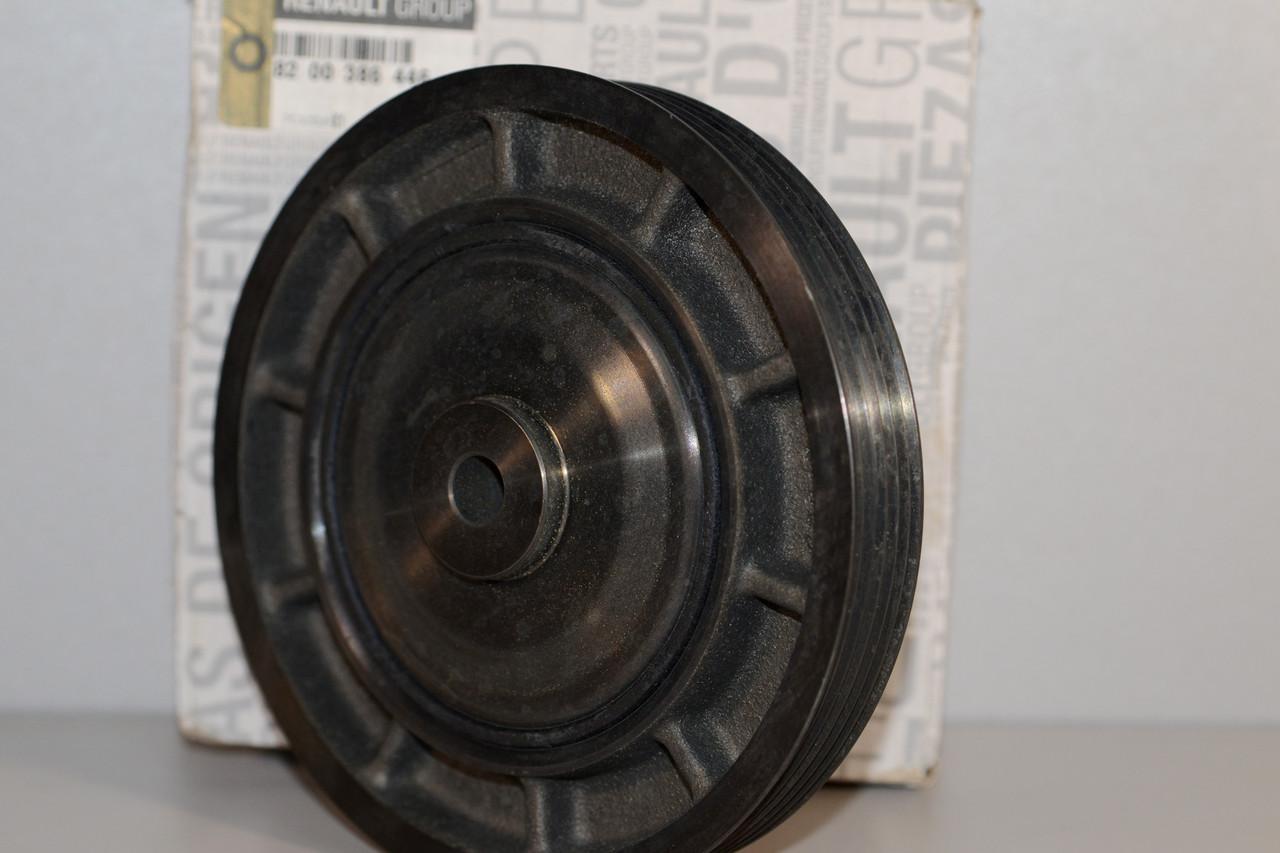 Ременной шкив коленчатого вала на Renault Trafic II 2001->2006 1.9dCi — Renault (Оригинал) - 8200386446