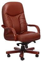 Кожаное кресло Буффало НВ кожа люкс коричневая