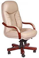 Кожаное кресло Буффало НВ кожа люкс бежевая