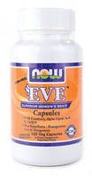 Мультивитамины для женщин без железа - Ева / EVE, 120 капсул