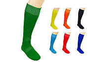 Гетры футбольные мужские  (полиэстер, р-р 40-45, цвета в ассортименте)
