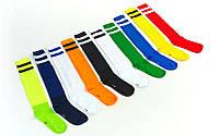 Гетры футбольные мужские (носок х-б, нейлон, р-р 40-45 цвета в ассортименте)