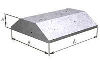 Плиты фундаментов ленточных ФЛ 12.24-2  1180х1200х300мм