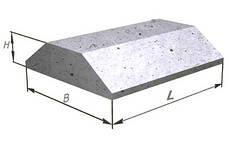Плиты фундаментов ФЛ 14.8-2   1180х1400х300мм, фото 3