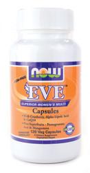 Мультивитамины для женщин без железа - Ева / EVE от NOW Foods, 120 капсул - Красивая фигура в Киеве