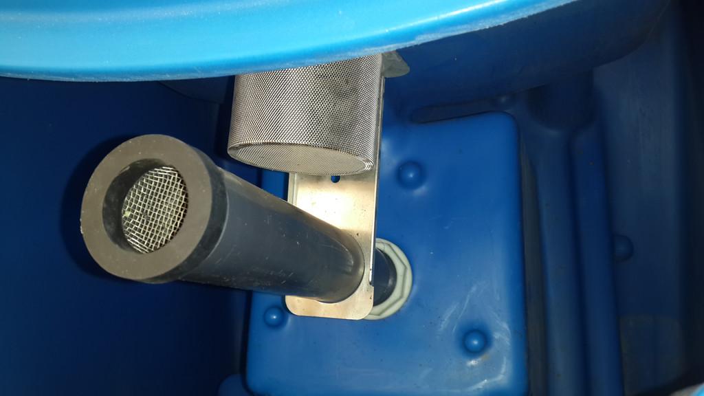 Всасывающая турбина надежно защищена и звукоизолирована -не шумит