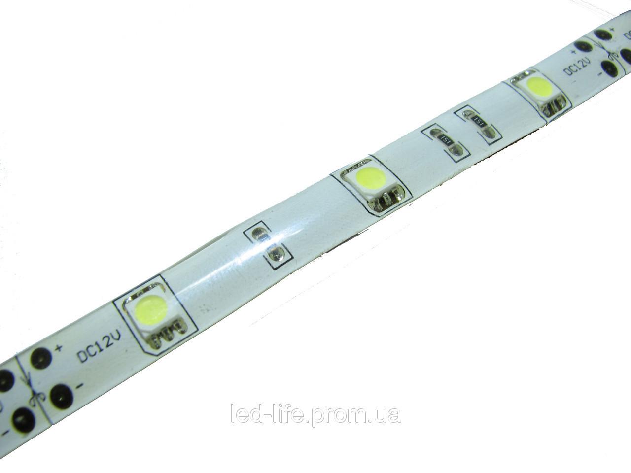 Светодиодная лента SMD 5050 30 шт/метр ВСЕ ЦВЕТА (герметичная)