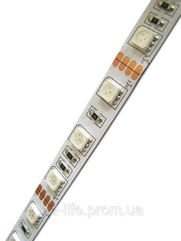 Светодиодная лента SMD 5050 60 шт/метр ВСЕ ЦВЕТА (открытая)