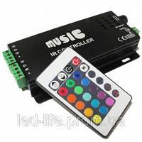 RGB Music Controller 144W Black Audio
