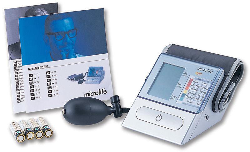 Полуавтоматический тонометр Microlife BP A 80