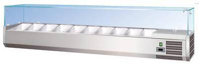 Холодильная витрина для топпинга Forcar RI 14033 V, фото 2