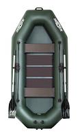 Надувная гребная лодка (Стандарт) с пайолом слань-коврик KDB К-280Т / 26-922