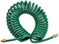Шланг спиральный для пневмоинструмента 6,5х10мм х 15 м JONNESWAY JAZ-7214W