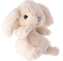 Мягкая игрушка зайчик KANINI - WHITE, 15CM