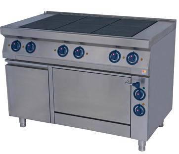 Кухонная электрическая плита Kogast ES-T67/1, фото 2