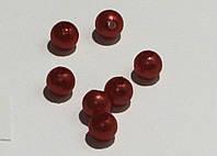 Жемчуг 8 мм. Красный