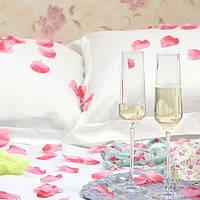 Лепестки роз из ткани розовые 150 шт., фото 4