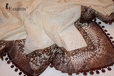 Платок женский Молочный (Турция)