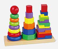 Пирамидка деревянная Viga Toys (50567)