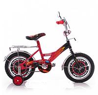 """Велосипед детский 14 дюймов спортивный двухколесный Mustang """"Тачки"""" Cars"""