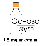 Основа для самозамеса Inawera PG 50% / VG 50% 100 мл (1.5 мг/мл)