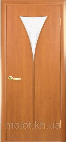 """Межкомнатные двери """" Бора со стеклом сатин """""""