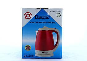 Чайник MS 5023 Красный 220V/1500W (ТОЛЬКО ЯЩИКОМ!!!) (12)   в уп. 12шт