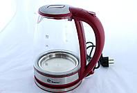 Чайник MS 8113 Red стекло (ТОЛЬКО ЯЩИКОМ!!!) (6)