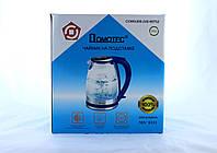 Чайник MS 8111 Blue стекло (ТОЛЬКО ЯЩИКОМ!!!) (6)