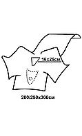 Комплект покрытий операционных для гинек.операций (лапароскопия та гистероскопия) №1 стерильный