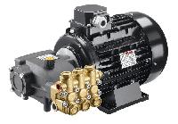 Помпа Hawk NMT 1520R+ двигатель Samec 5.5 кВт + By-pass VRT 3+ манометр