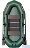 Надувная гребная лодка (с пайолом слань-коврик) Профи KDB К-270Т / 69-542