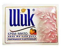 Косметическое крем-мыло Шик Айва и масло риса Смягчение и регенерация - 100 г.